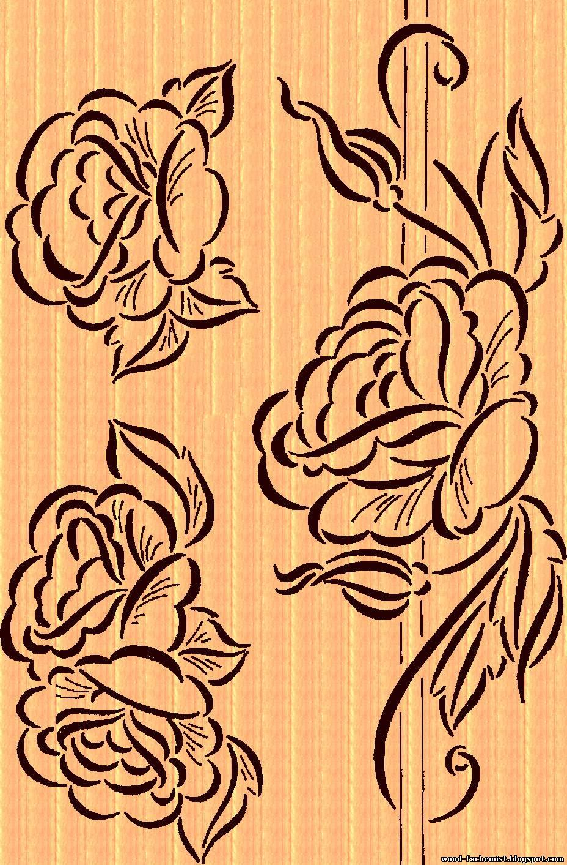 узоры для резьбы по дереву рисунки